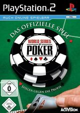 World Series of Poker-IL GIOCO UFFICIALE PER SONY PLAYSTATION 2 ps2 Nuovo/Scatola Originale
