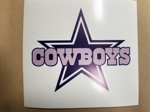 Dallas Cowboys cornhole board or vehicle decal(s)