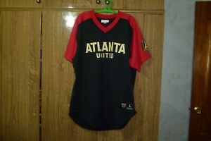 d7c63387 Atlanta United Mitchell & Ness MLS Football Fan Jersey USA Soccer ...