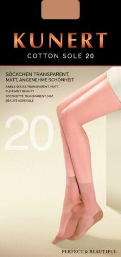 169800 Kunert Calze//CALZINI Cotton SOLE