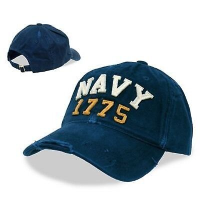 Fashion Style Us Navy Rapid Dominance Cotton Vintage 1775 Athletic Cappuccio Berretto Blue-mostra Il Titolo Originale