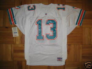new style c5773 d008e Details about 1993 Authentic Dolphins Dan Marino WILSON jersey SIGNED  PRO-Line Autographed