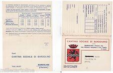 #BARDOLINO: CARTOLINA-DOPPIA- CANTINA SOCIALE BARDOLINO