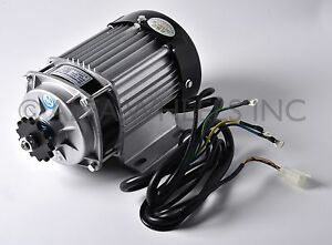 750W-watt-48V-DC-Electric-eATV-Quad-GoKart-Brushless-Motor-DIY-Gear-Reduction