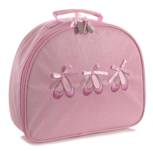 Pink Sparkly Ballerina Dance Ballet Hand Bag By Katz Christmas Birthday KB100