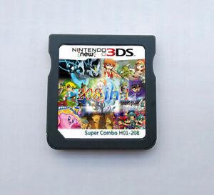 208-en-1-juegos-de-Juego-Cartucho-multicart-Para-Nintendo-Ds-Nds-Ndsl-Ndsi-2DS-3DS-US