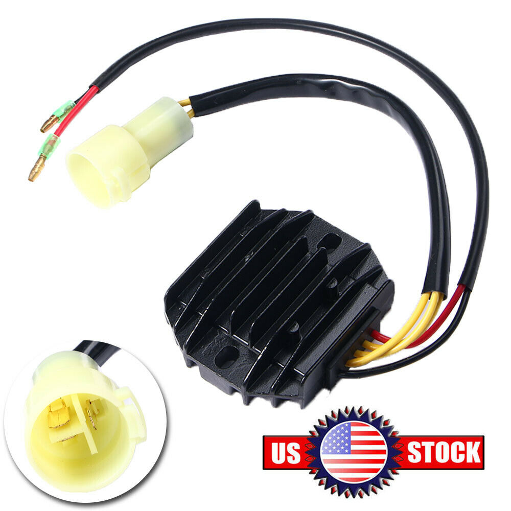 LUJUNTEC Regulator Rectifier Fit for 1993-2000 Honda FourTrax 300 1993-2006 Honda Sportrax 300 Voltage Regulator