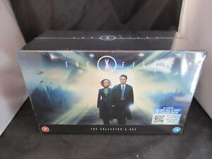 Blu-Ray-Boxset-The-X-Files-Collector-039-s-Edition-Series-1-9-New-Sealed-Damaged