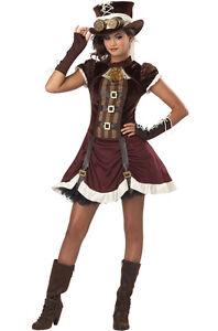 Rock Star Steampunk Girl Tween Halloween Costume | eBay