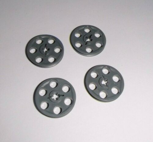 LEGO Technic 4185 en gris foncé de 42055 42009 42043 10240 4 poulies