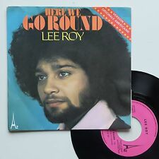 "Vinyle 45T Lee Roy  ""Here we go round"""