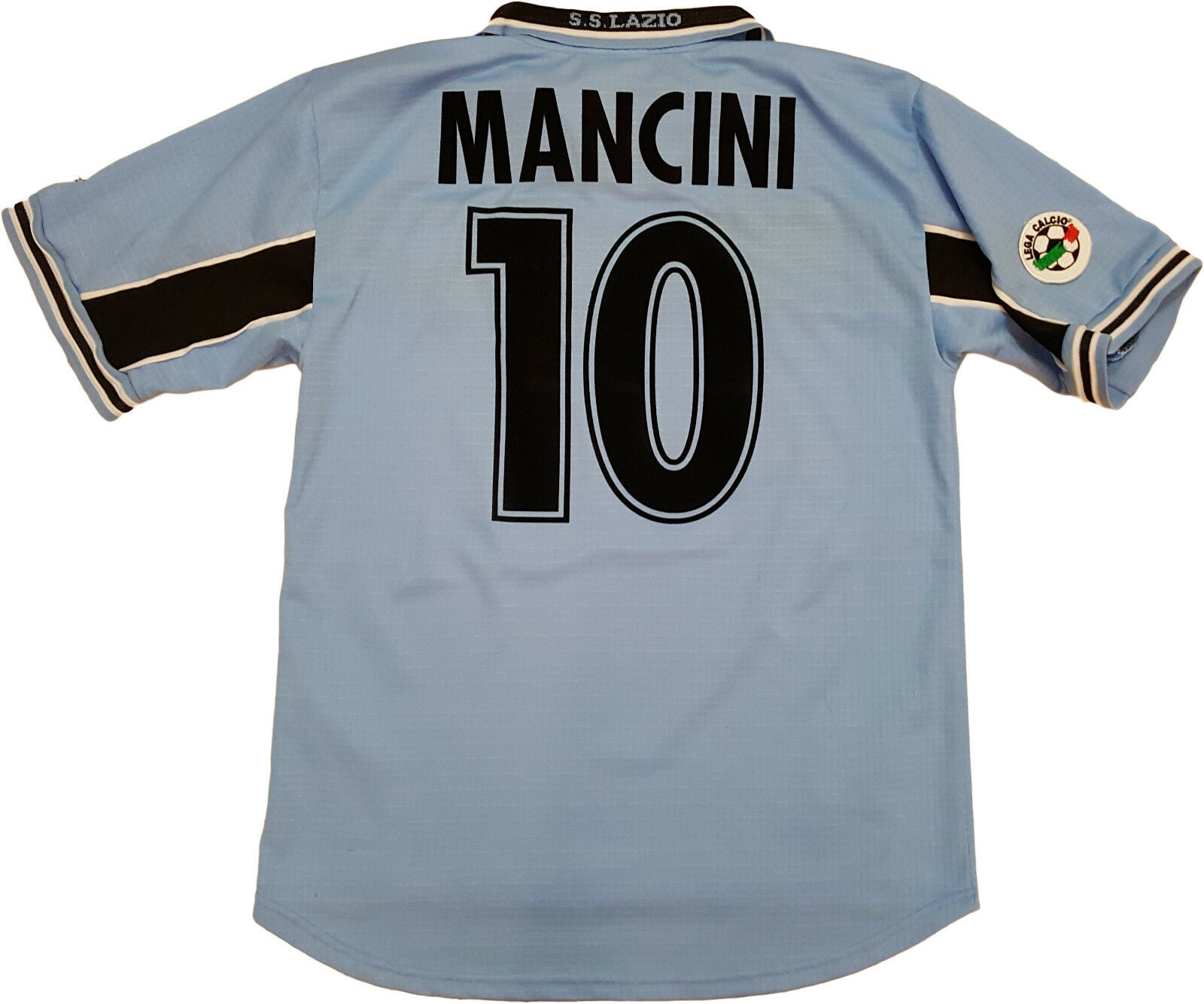 Mancini Lazio vintage Puma Cirio 1998 1999 home shirt jersey Medium