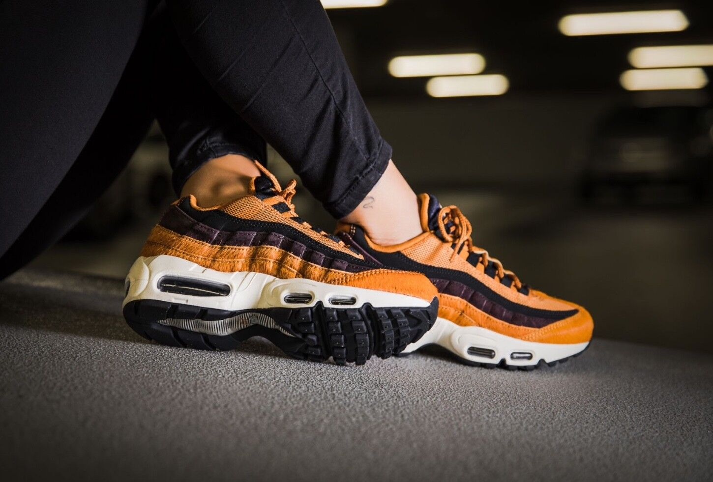 Nike Air Max 95 LX Trainer AA1103-200 UK4 EU37.5 US6.5 BNIB no lid