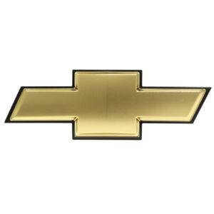 Oem New Front Bumper Grille Bow Tie Emblem Gold 07 11 Chevrolet Aveo 96648780 Ebay