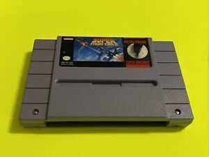 WORKING-SUPER-NINTENDO-SNES-GAME-CARTRIDGE-SUPER-STRIKE-EAGLE-SHOOTER