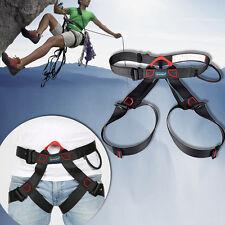Harness Bust Seat Belt Outdoor Rescue Zip Line Rock Climb Rappelling Equipment