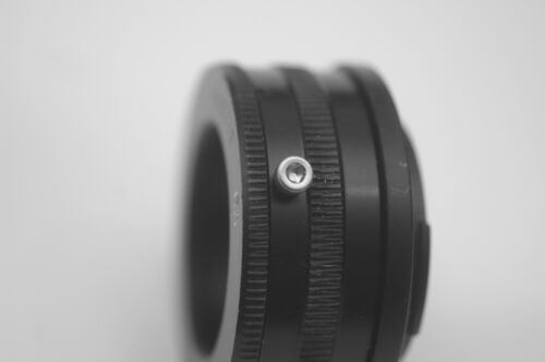 A7, NEX, FS100 etc Braun Paxette L39 lens to Sony E mount close focus helical