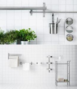 Dettagli su IKEA GRUNDTAL parete della cucina contenitore GAMMA & ACCESSORI  BAGNO IN UN