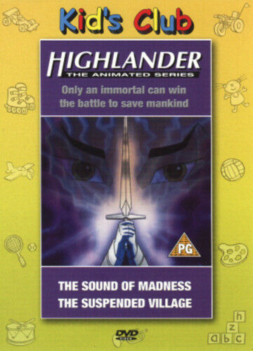 1 of 1 - Highlander - The Animated Series: Sound of Madness/Suspended... DVD (2002)