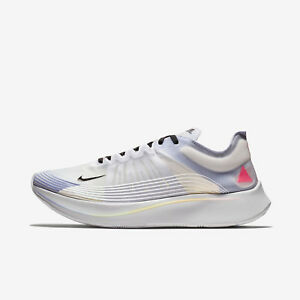 1ac04b863c95 NIKE ZOOM FLY BETRUE AR4348-105 WHITE BLACK PALEST PURPLE MULTICOLOR ...