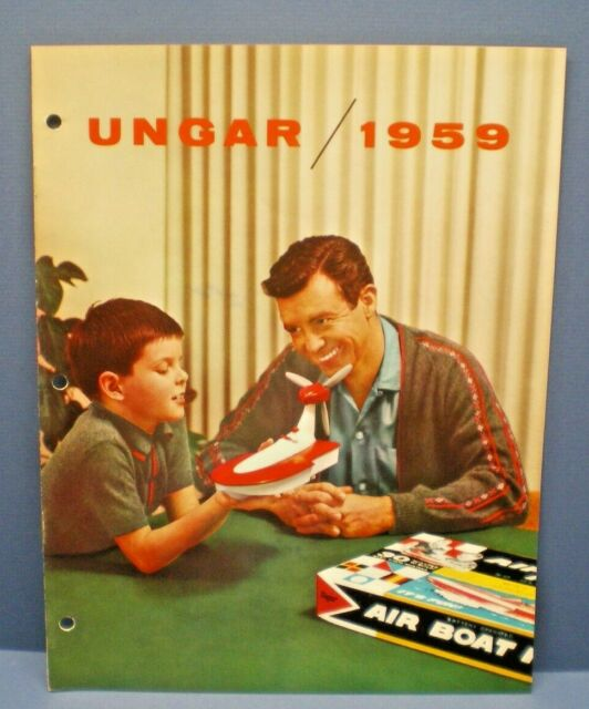UNGAR 1959  multi page full line color Dealer Sales Catalog L@@K!