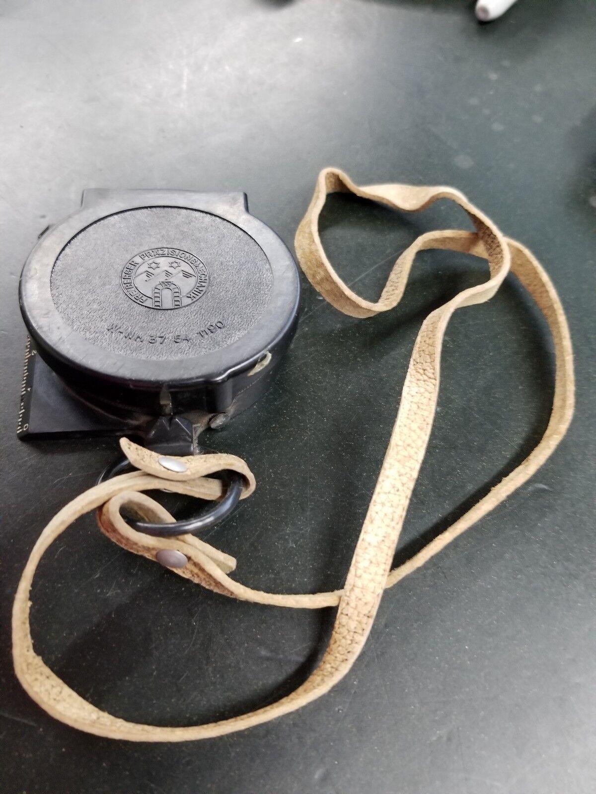 Vintage Compass Freiberger Präzisionsmechanik W-Nr. 37 54 1190