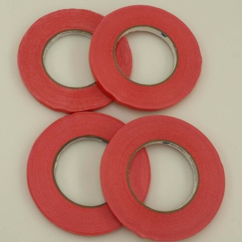 RED BAG SEALING TAPE 4 ROLLS 3//8 X 540