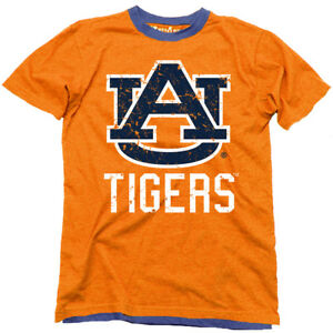 06a67fcc9549 Image is loading NWT-Wes-and-Willy-Auburn-Tigers-Orange-Tee-