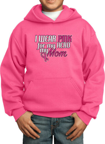 Buy Cool Shirts Kids Breast Cancer Hoodie Pink For My Hero