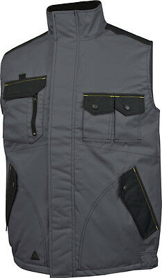 Delta Plus Panoply M5GIW Mach Spirit Mens Padded Bodywarmer Gilet Coat Jacket