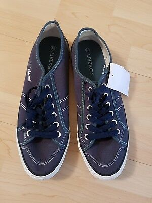 tolle Schuhe Herrenschuhe Freizeitschuhe Gr 45 Livergy Farbe blau neu m Etikett
