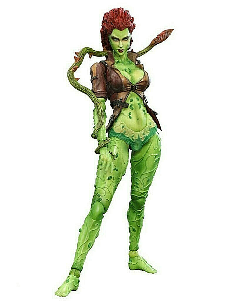 Arkham City POISON IVY figura PVC 20cm Play-Arts Square Enix