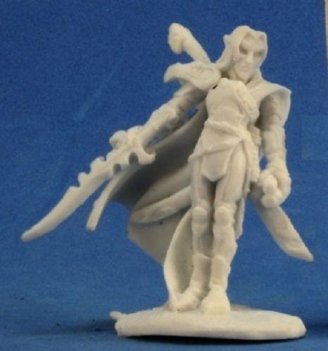 Reaper Miniatures Dark Heaven Bones Ardynn Elf Warrior Mage RPR 77221