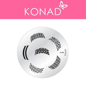 Original KONAD ® Stamping Nailart Design Schablone Image Plate - M44
