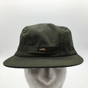 b891d66b64805f Vintage Lee 3 Panel Cadet Style Hat With Ear Flaps Size 7 3/8 Union ...