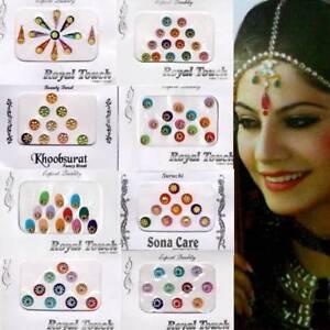 Bindi Bindis Indischer Stirnschmuck Schmuck Bollywood Body Sticker Tikka