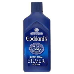 Goddard-039-s-Long-Term-Silver-Polish-Cleaner-125ml-Protect-Shine-Dip-Liquid-Tarnish