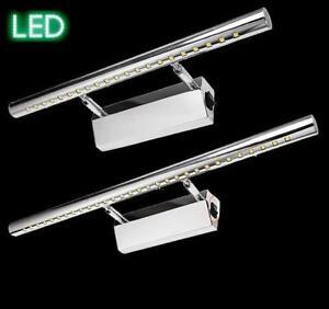 Spiegelleuchte-LED-5-9-W-chrom-Wandleuchte-Badezimmer-Leuchte-Lampe-Spiegellampe