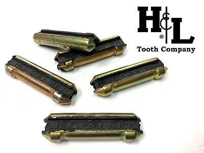 10 Pack 230 Bucket Tooth// Bucket Teeth Heavy Duty Extra Long Flex Pins TF23P