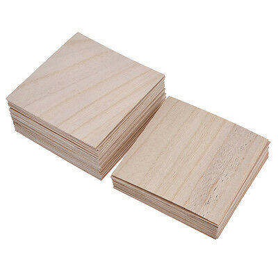 Holz Platte Für Haus Schiff Flugzeug Automobil Haus Modell DIY Basteln Deko Neu