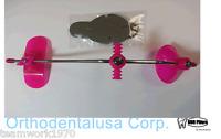 Adjustable Orthodontic Face Mask Reverse Pull Headgear Pink / Mascara Facial