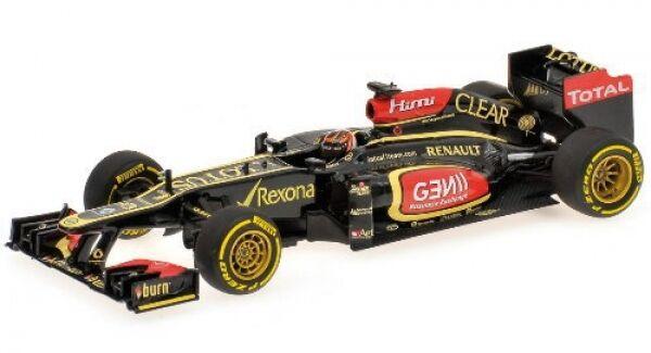 Lotus f1 team No. 7 Kimi räikkönen formellement 1 showcar 2013