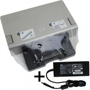 HP-Dockingstation-HSTNN-I08X-mit-Netzteil-19V-7-89A-150-Watt-EliteBook-ProBook