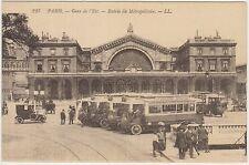 PARIS - GARE DE L'EST - ENTRE DE METROPOLITAIN - STAZIONE E CORRIERE (FRANCIA)