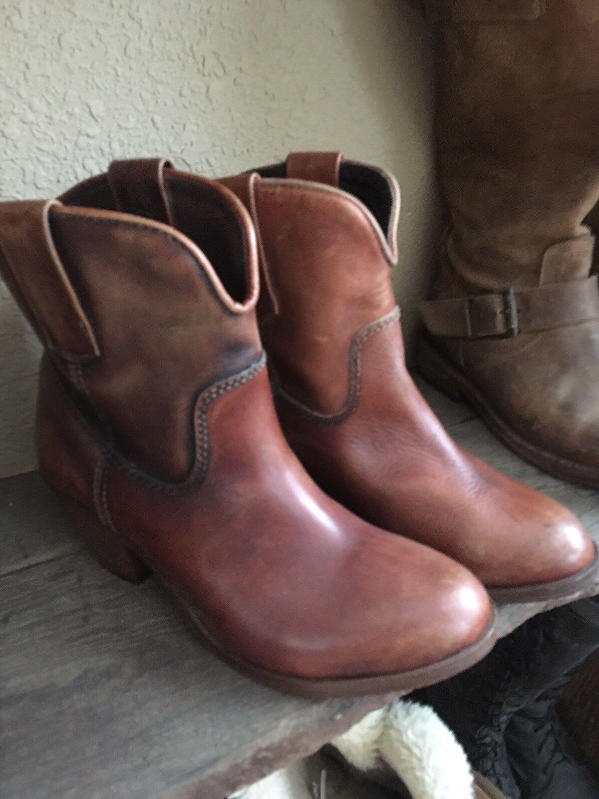 Gentlemen/Ladies Corral short Boots booties 7 Packaging diversity New style cheap price