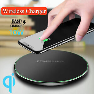 Luxury-Qi-Fast-Wireless-Charger-Charging-Pad-For-Apple-iPhone-XS-Max-Xr-X-8-Plus
