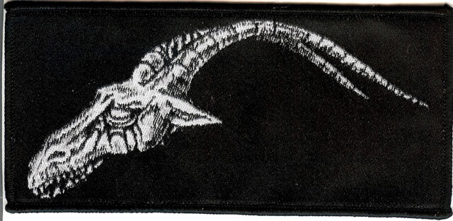 Satanik Goat Ritual Patch Left Black Death Metal Morbosidad Hellhammer Sadogoat