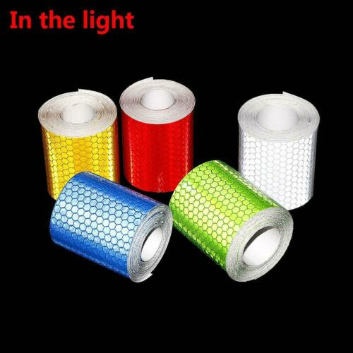 5cmx3m Car Decoration Safety Mark Motorcycle Reflective Tape Stickers For DI