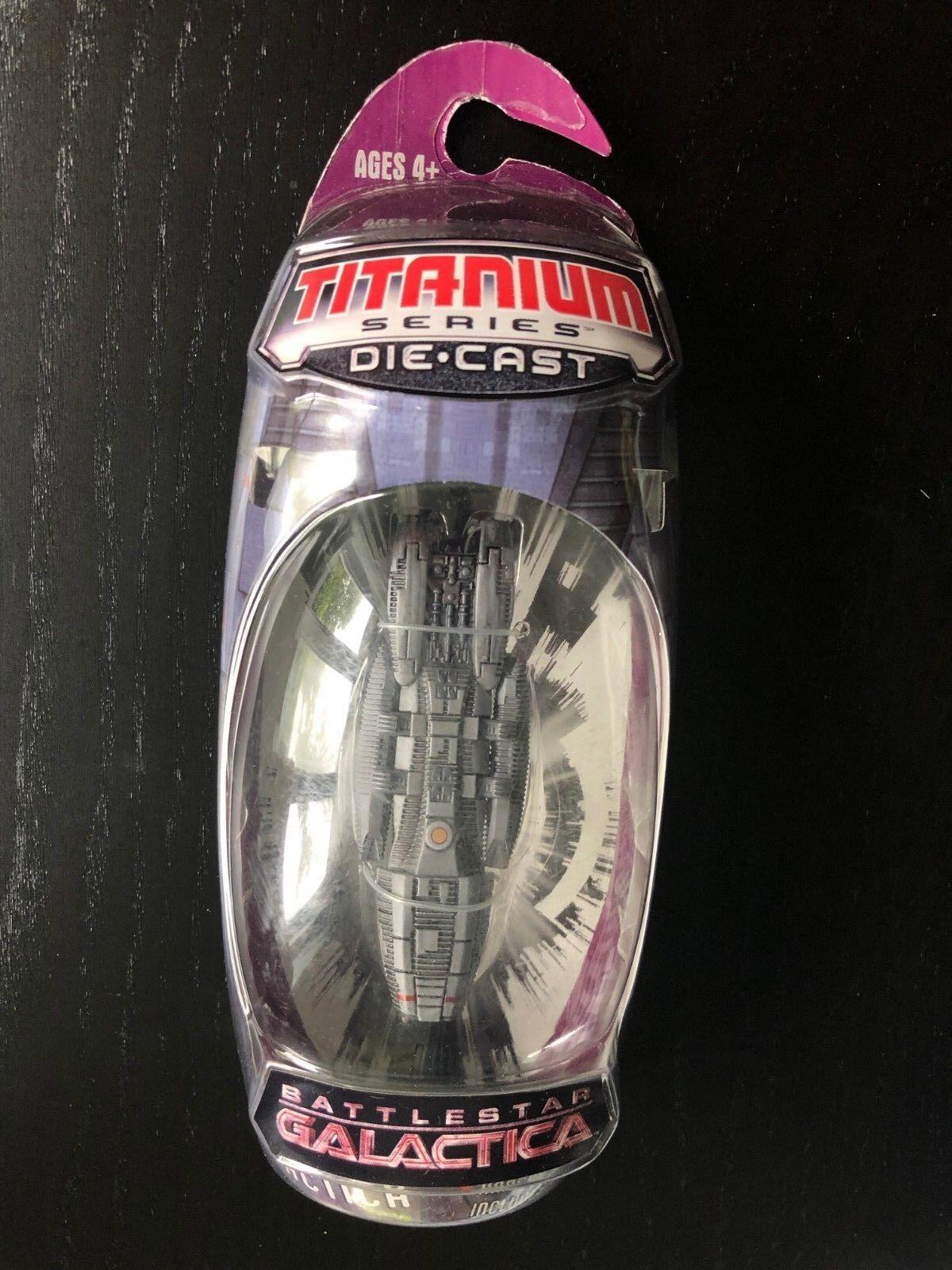 Battlestar Galactica BATTLESTAR Titanium Titanium Titanium New NIP RARE diecast A 120568