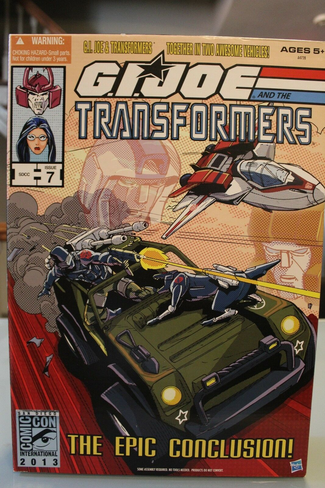 GI Joe And The Transformers The Epic Conclusion SDCC 2013 Issue 7